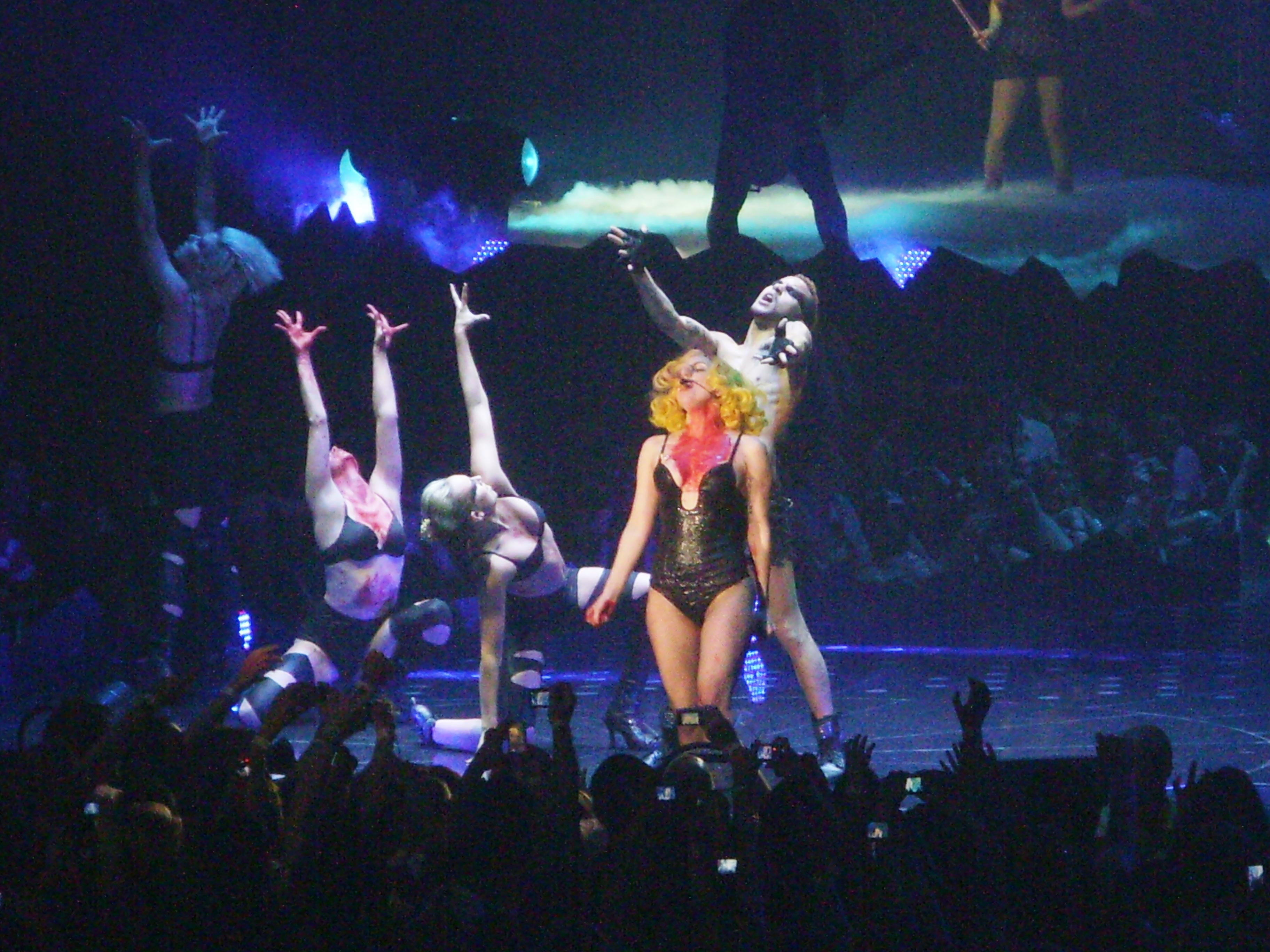 tattoos adorning Lady Gaga