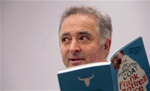 Frank Cottrell Boyce read aloud to an audience of primary school teachers at  The Reader Organisation's Reading for Pleasure Day Conference