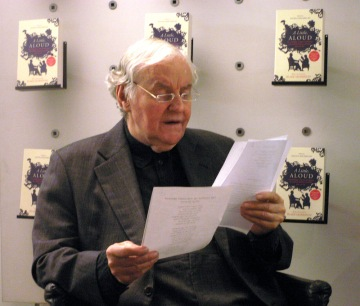 Richard Briers at the launch of A Little, Aloud