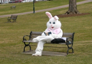 easter bunny reading