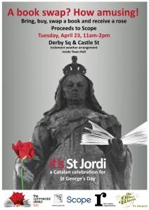 St Jordi event
