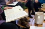 books and tea reading circle