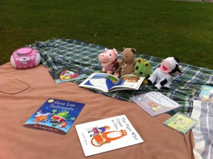 The teddies at Calderstones love to read