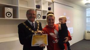 Rhiannon, Bobby and Lord Mayor