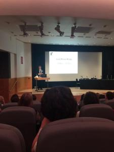Lord Melvyn Bragg at Better with a Book (c. @Hollingtonn, Twitter)