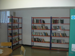 The first Book Room at Wormwood Scrubs, set up by Give A Book