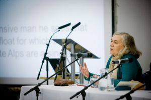 Marilynne Robinson speaking at our 'Reading for Wellbeing' conference in 2011