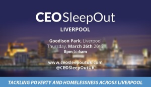 CEO Sleepout Liverpool