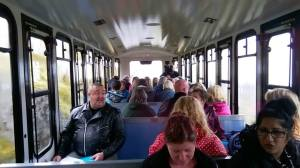Setting off on the Snowdon Mountain Railway