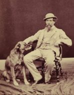 Charles Dickens with loyal Turk