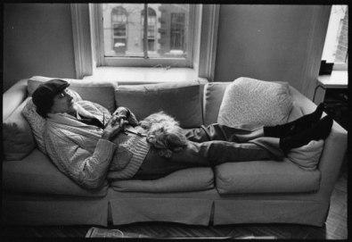 Kurt Vonnegut with Pumpkin