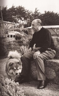 Pablo Neruda with Chu Tuh