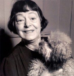 Dorothy Parker with Misty