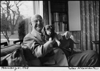 PG Wodehouse with Jed
