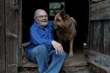 Maurice Sendak with Herman (Melville)